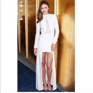 HALSTON SOLANGE DRESS SEXY ELEGANT size M